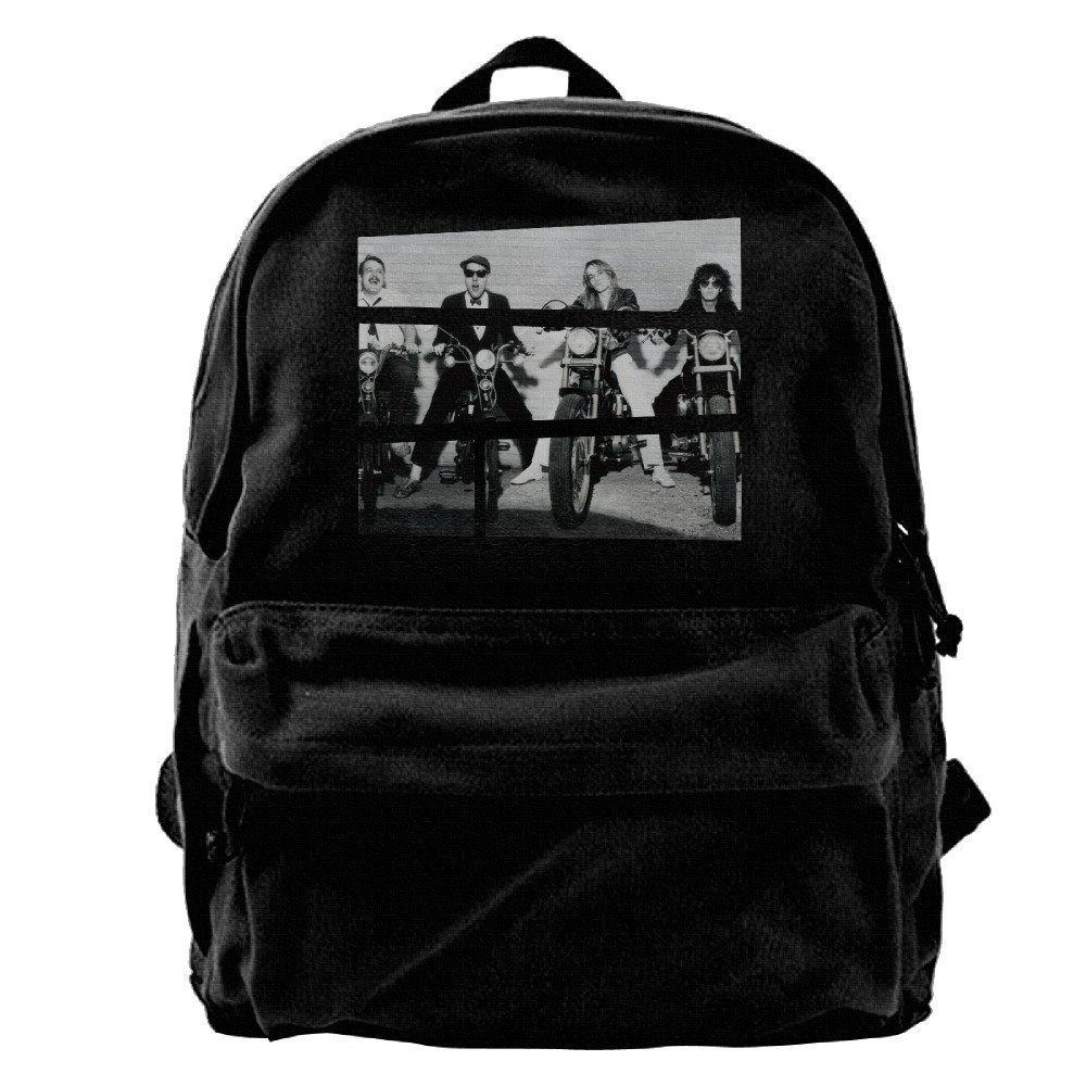 Canvas Backpack, Cheap Trick Casual Laptop College Bag Daypack For Travel, Hiking, Camping