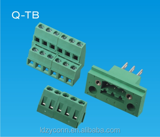UL 3.81mm pitch 3-way terminal block