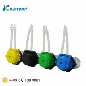 Kamoer New-KP series Mini self-priming peristaltic water pump 6v/12v/24v dc motor metering chemical dosing liquid dispenser