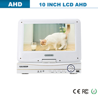 all in one LCD hd 4 channel cctv ahd dvr pci card h.264 dvr combo