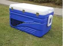 100L 105L large sea fishing marine cooler box with wheels seafood transportation