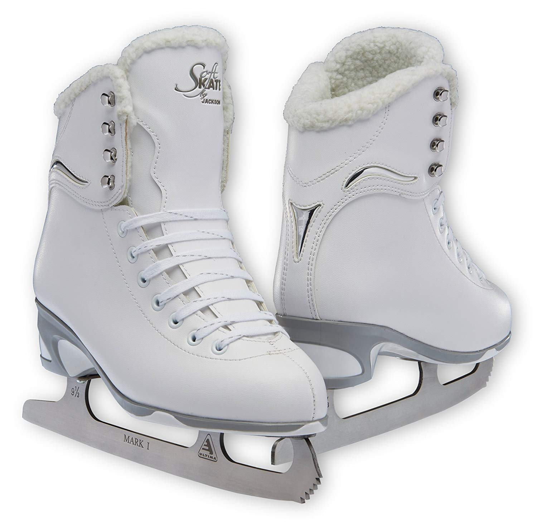 JNJ Mens Traditional Figure Ice Skates