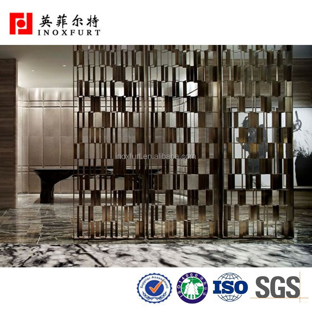 Fireproof Metal Folding Door Partition For Banquet Hall