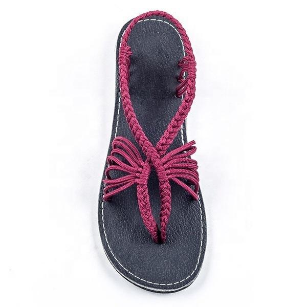 9fb0bc75aa7be Wholesale Amazon Hot Sale Fashion Women Flat Sandals 2019 Large Size 44  Summer Shoe Comfortable Rome Beach Soft Casual Sandals - Buy Women  Sandal,Open ...