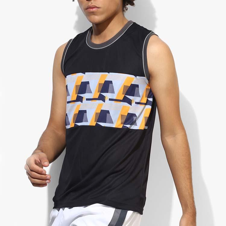 مخصص كمال الاجسام اللياقة البدنية الصالة الرياضية الملابس (سترينغر) خزان أعلى ملابس رياضية الرجال