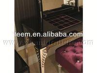 2014 Divany Neo-classical furniture dresser ceramic dinner set antique vanity dresser with mirror LS-220