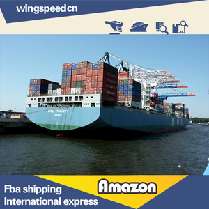 Door to door UPS dropshipping rates from China to USA amazon warehouse