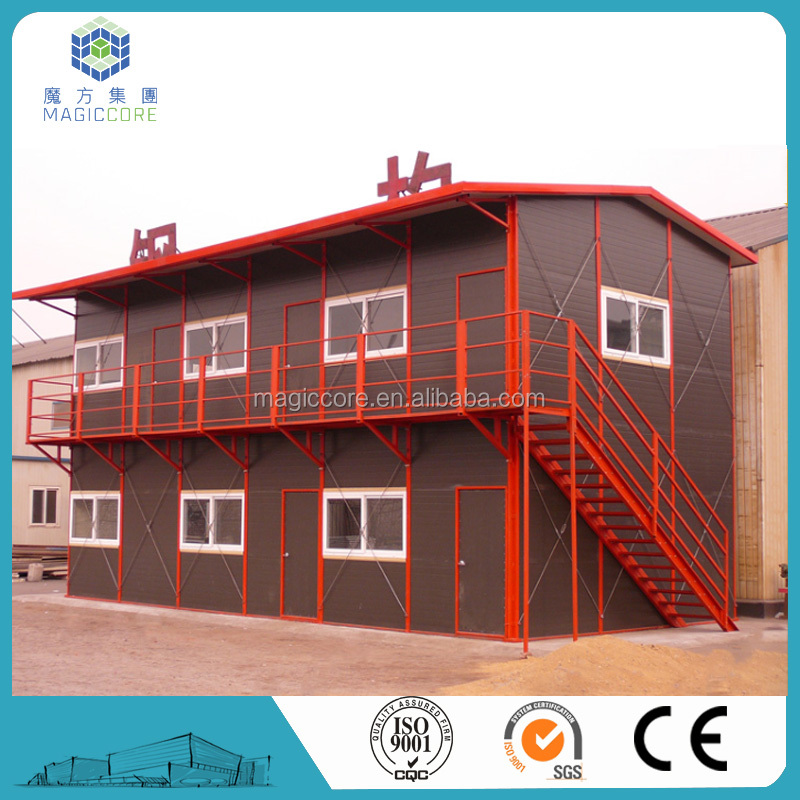 Rock wool panel classroom prefabricated building/school houses for sale cavite philippines for sale
