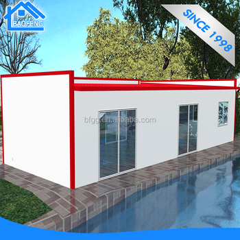 2017 Unique fashion modular prefab house for people life home