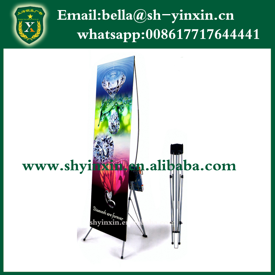 China X Banner Display Stand,Floor Stand Banner For Advertising ...