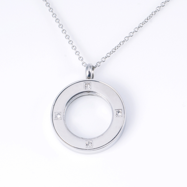 China circle steel pendant wholesale alibaba new design women cz diamond stainless steel circle pendant meaning aloadofball Images