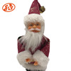 Factory Direct Sales Small Cute White Customize Plush Santa Claus
