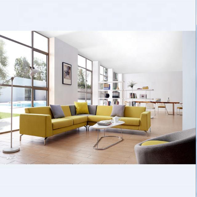 Modern Attractive Newest Design corner sofa fabric sectional sofa executive  sofa set mebel settee