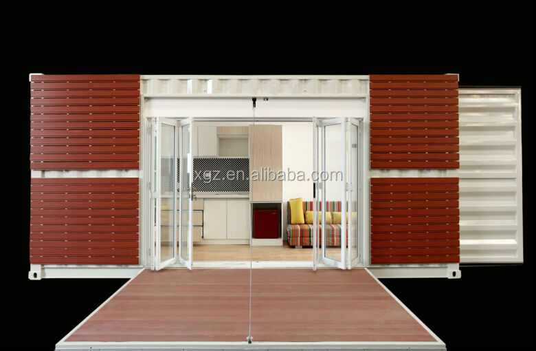 prefab modular container house design