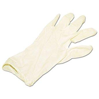 Impact 8625 Proguard Disposable Latex General Purpose Powder Free Gloves Medium 1 Box/100 Gloves