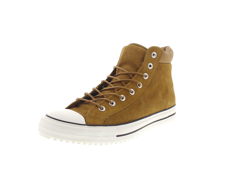 73264df38809ec Get Quotations · Converse Chuck Taylor All Star Converse PC Boot Hi  Antiqued Egret Black Men s Shoes