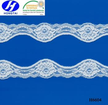 Elastic Lace Trim, Lycra Lace Trim, Spandex Lace Trim for Underwear, lingerie and Headband