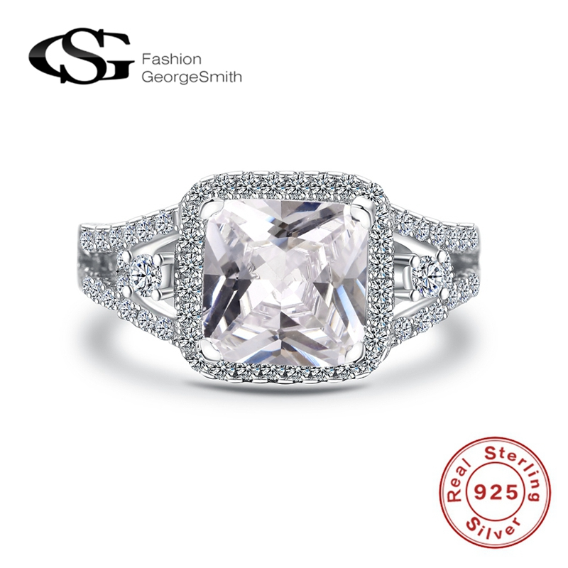Hot Sale 925 Platinum Diamond Ring GS Bulk Sale Fashionable Charming Multi Gemstone Zircon Carved Luxury Ring