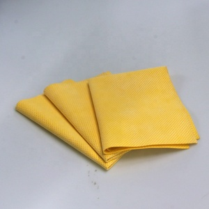 high quantity Pu chamois PU shammy cleaning cloth car cleaning leather cloth