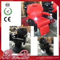 2017 Hot Hair Salon Furniture Reclining Black Barber Chair , used hydraulic Pump salon chair for sale