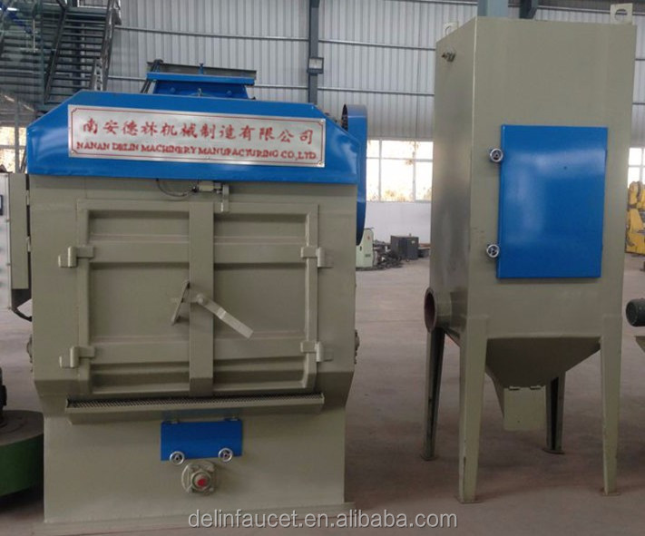 Factory direct supply portable steel pipe sandblasting machine