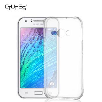 For Samsung Galaxy J1 Ace Case Thin Slim Silicon Flexible Crystal Clear TPU Bumper
