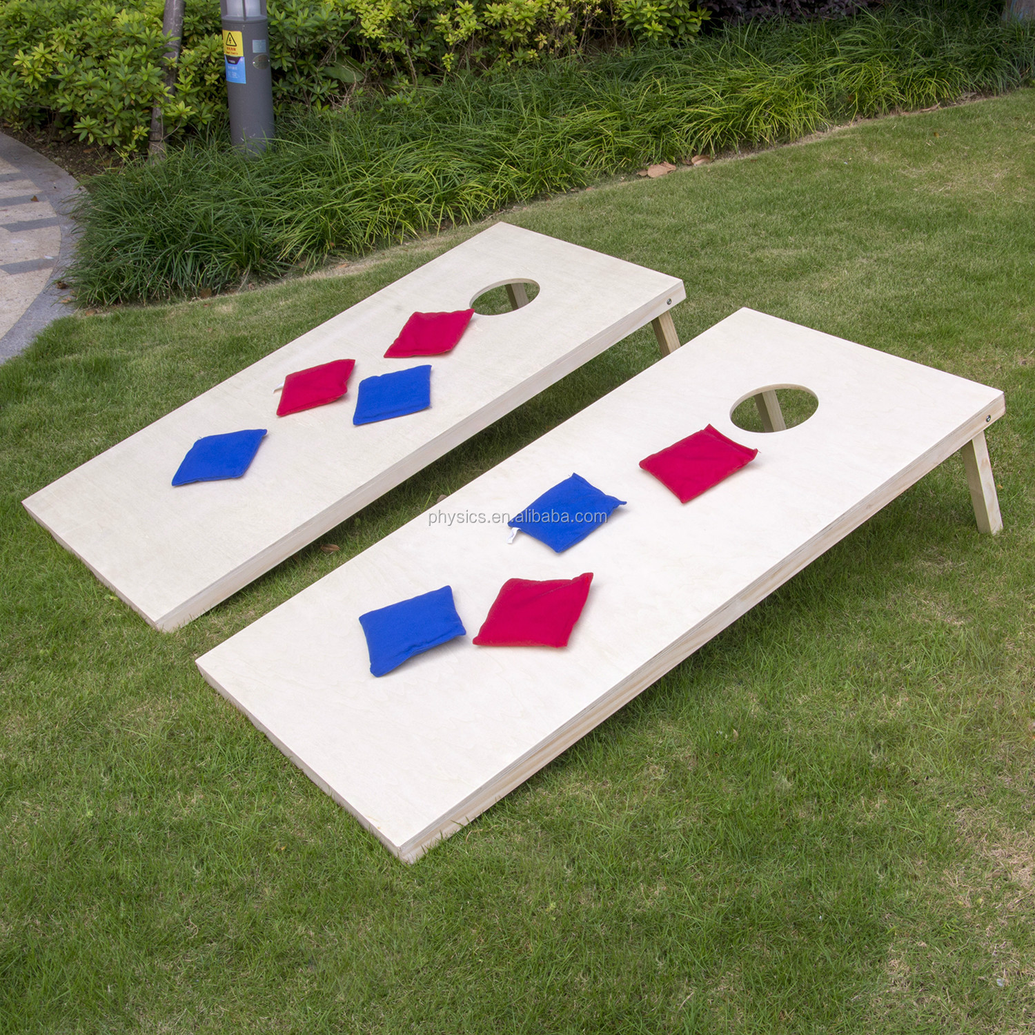Astonishing Solid Wood Garden Game Cornhole Board Bean Bag Toss Game Set With 8 All Weather Cornhole Bags Buy Bean Bag Toss Game Wooden Game Set Outdoor Game Cjindustries Chair Design For Home Cjindustriesco