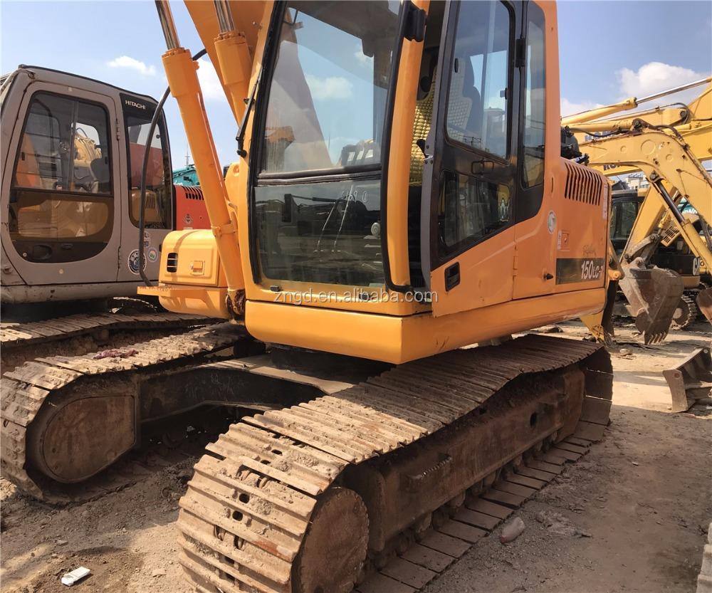 Hyundai R150lc-7 15 Tons Crawler Excavator Used Hyundai R150lc-7 Excavator  - Buy Hyundai R150lc-7 15 Tons Crawler Excavator,Used Hyundai R150lc-7  Excavator ...