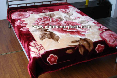 Embossed Mink Blanket