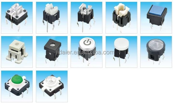 daier tsl12121 mini 6pins led tact switch buy mini 6pins led tact switch mini 6pins led tact