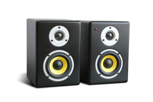 professional HiFi home audio desk active speakers