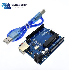 Original New Development board Arduinos UNO R3 kit atmega328p with USB  cable in stock