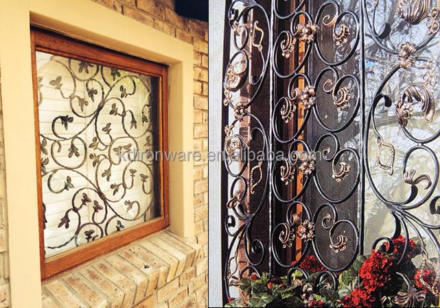 Popular Ornamentales De Hierro Forjado Metal Rejas De