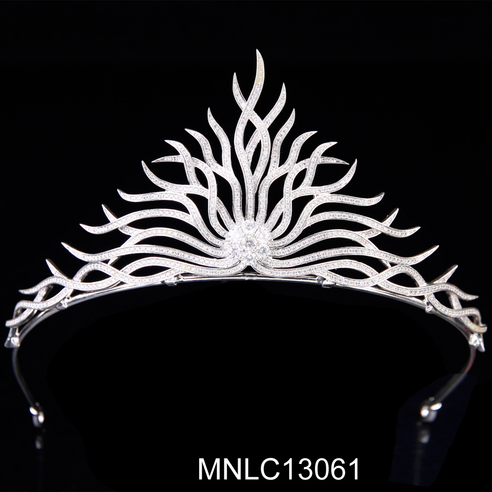 High Quality factory directly wedding pageant crowns tiara
