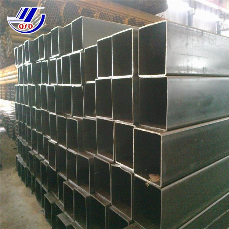 3''x3'' square tubing erw q235b welded carbon pipe hot rolled standard rhs steel sizes rectangle tube 400x600mm