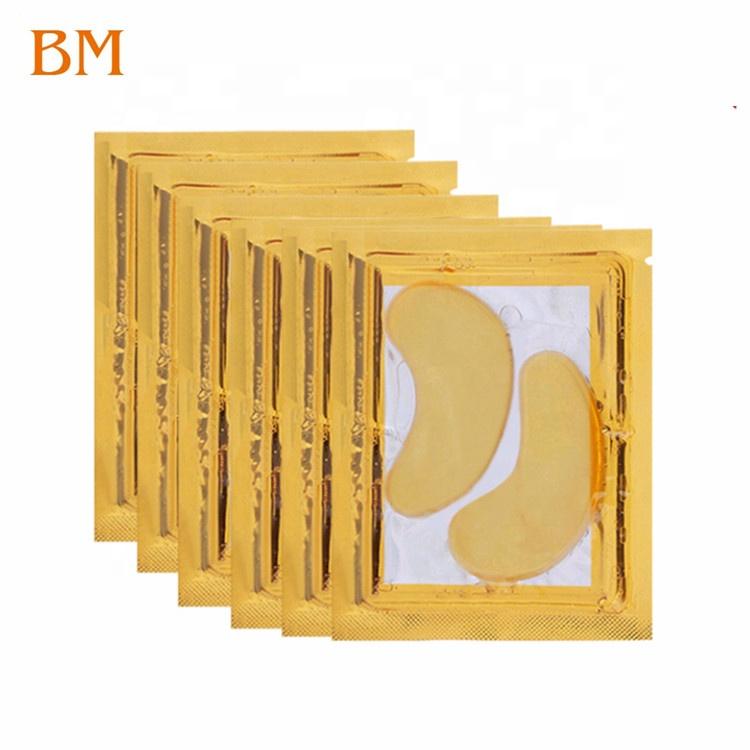 Revitalizing Eye Treatment Mask for Men and Women Eye Pads 24k Gold Eye Mask