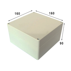 ABS Plastic Waterproof Electrical Enclosure 160*160*90mm