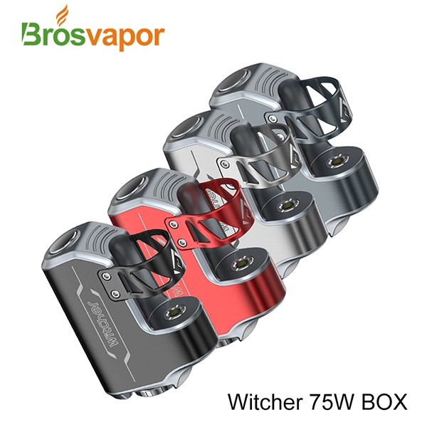 High Quality Box mod Witcher 75W Box Mod Witcher 75W Box Kit from Brosvapor