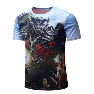 Custom make sublimation tshirt