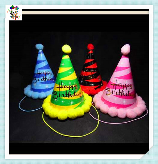 Children Funny Happy Birthday Party Paper Hats HPC-3331