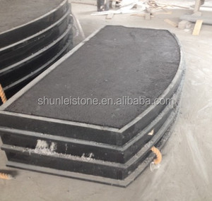 High quality curved granite hearth for sale