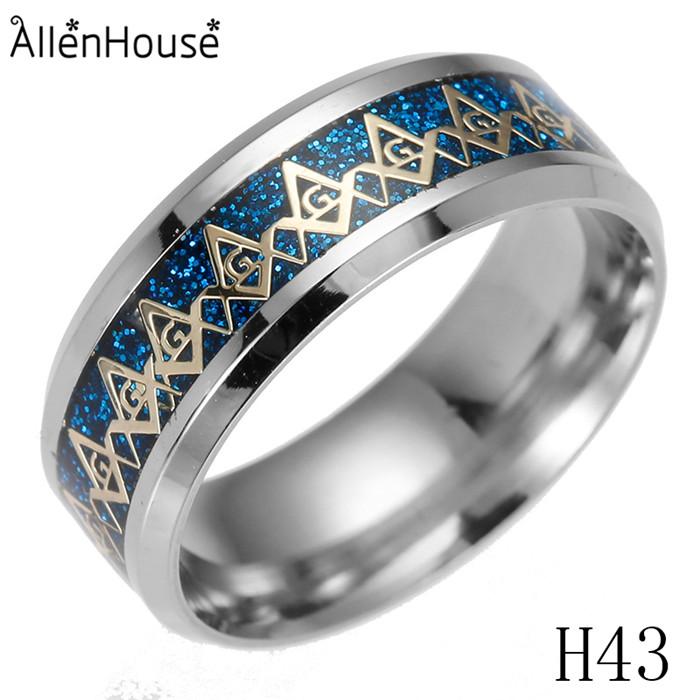 2018 Phantasie Herren Neueste Gold Blau Schwarz Finger Ringe Designs Edelstahl Freimaurer Ring Für Männer Buy Freimaurer Ring,Edelstahl Ring Für