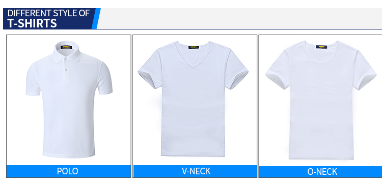 Fashion Wholesale Custom Blank Polo T-shirts