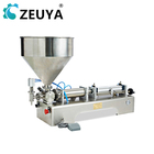 100-1000ml one filling head chocolate viscous paste pilling machine for creams butters