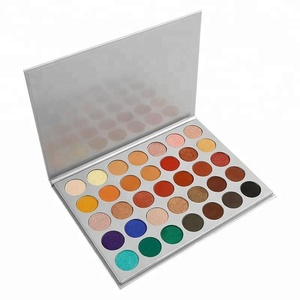 Christmas gift eye makeup 35 color eyeshadow palette Private label matte eye shadow colors