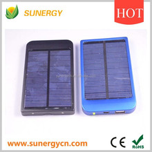 mini solar battery charger station with assesories and Ac adaptor for mobilephone
