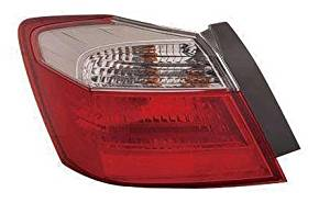 13 14 Honda Accord 4 Door Sedan Only (Without LED) Driver Taillamp Taillight 2013 2014