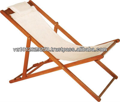 Folding Wooden Relaxing Chair