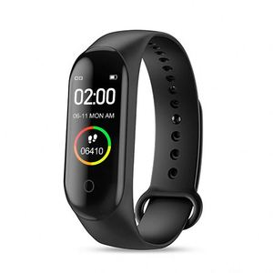 Hot Sell Ip67 Waterproof M4 Sport Wristband Tft Color Touch Screen Smartwatch Compatible For Ios & Android Os