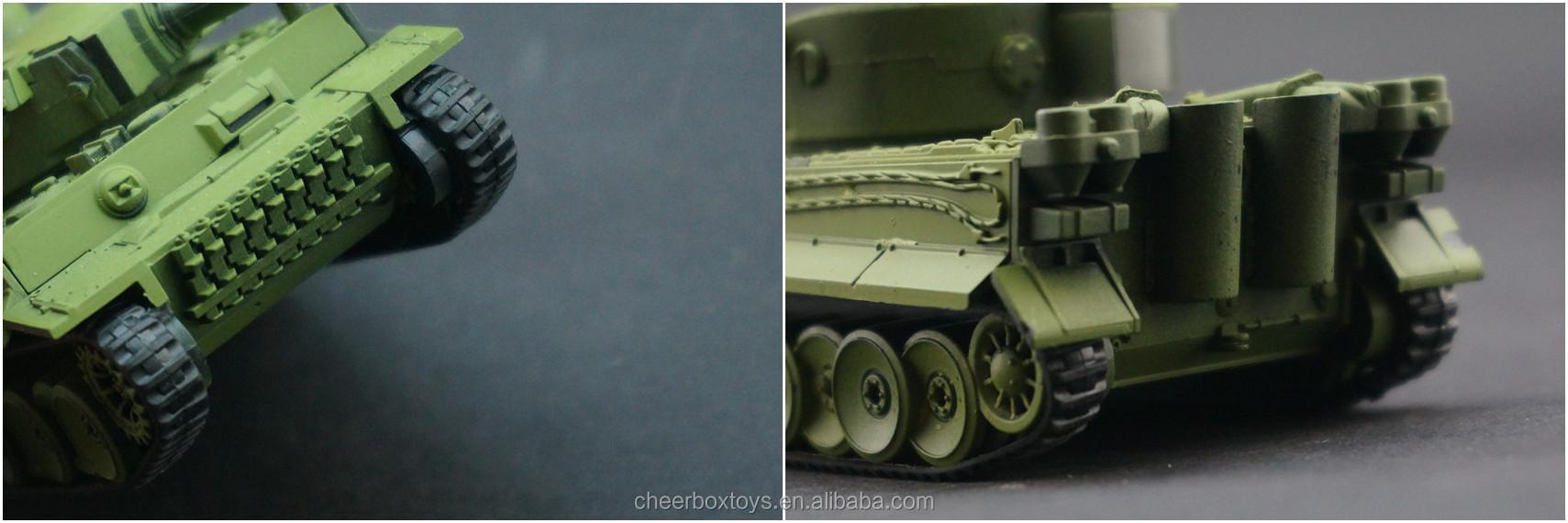 World War II Tank Model Plastic Assemble Kit 1:72 Military Model